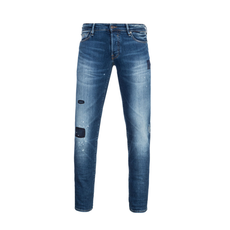 Jeansy Sonny Tapered Guess Jeans granatowy