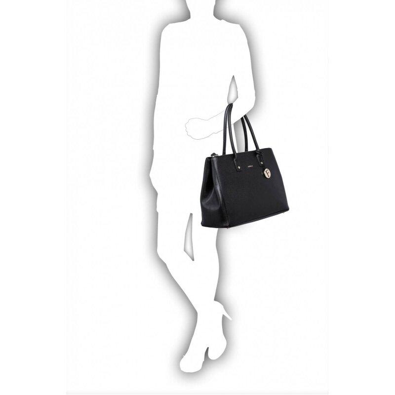 Shopperka Linda Furla czarny
