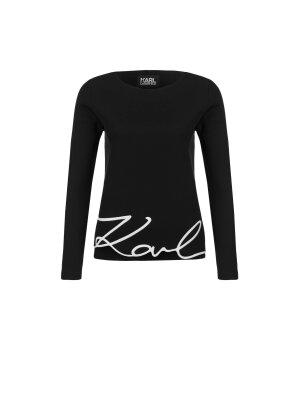 Karl Lagerfeld Bluza Karl Signature