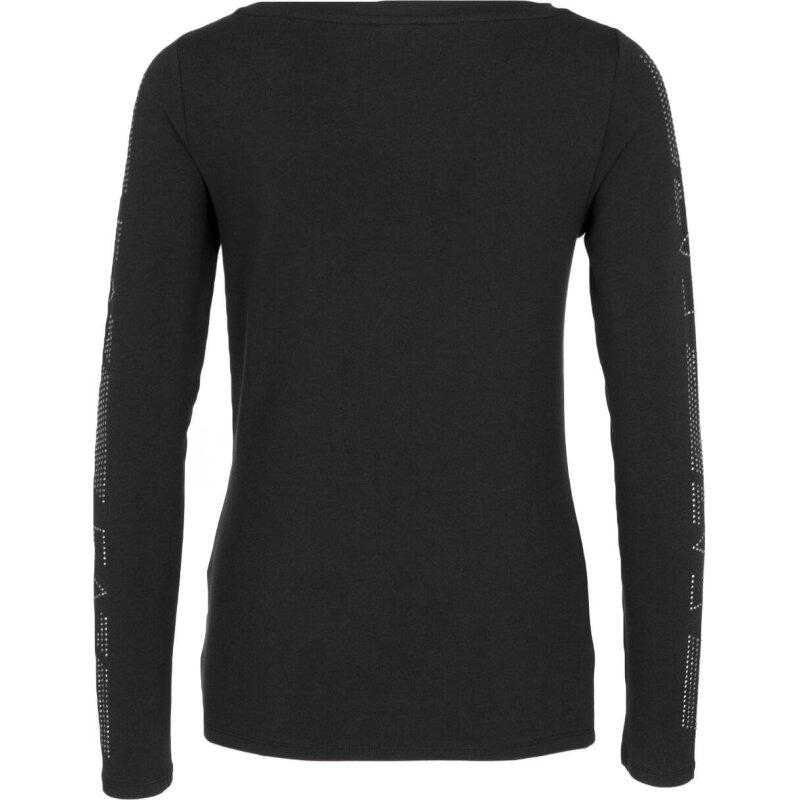 Bluzka EA7 czarny