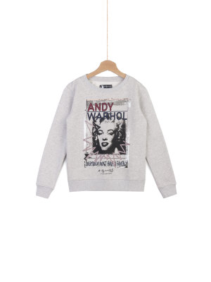 Pepe Jeans London Bluza Silena Jr Andy Warhol