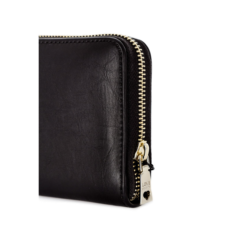 Patch wallet Love Moschino black