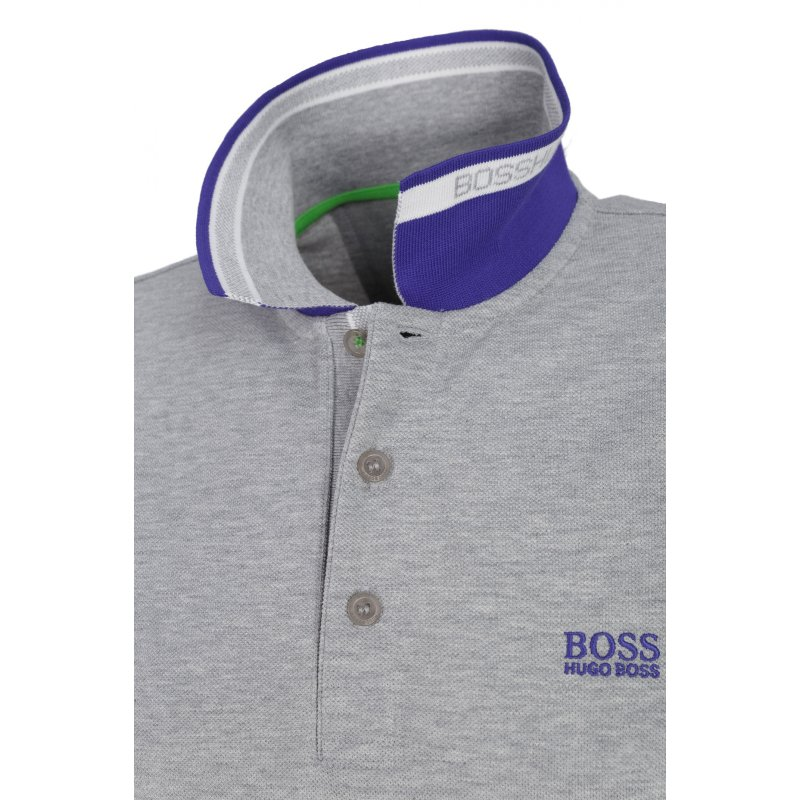 Polo Paddy Boss Green popielaty