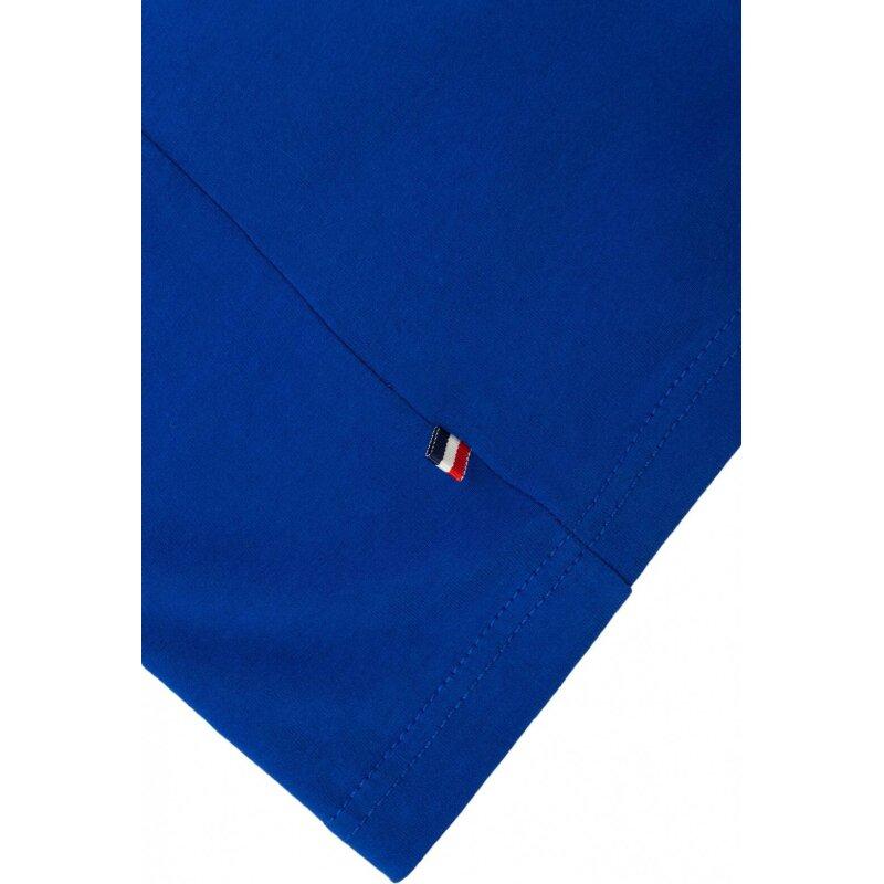 T-shirt THDM Basic Hilfiger Denim niebieski