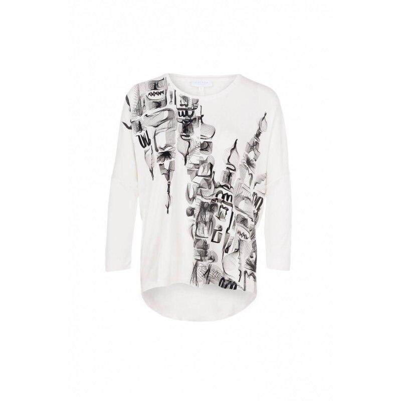 Bluzka EPANORAMA Escada Sport biały