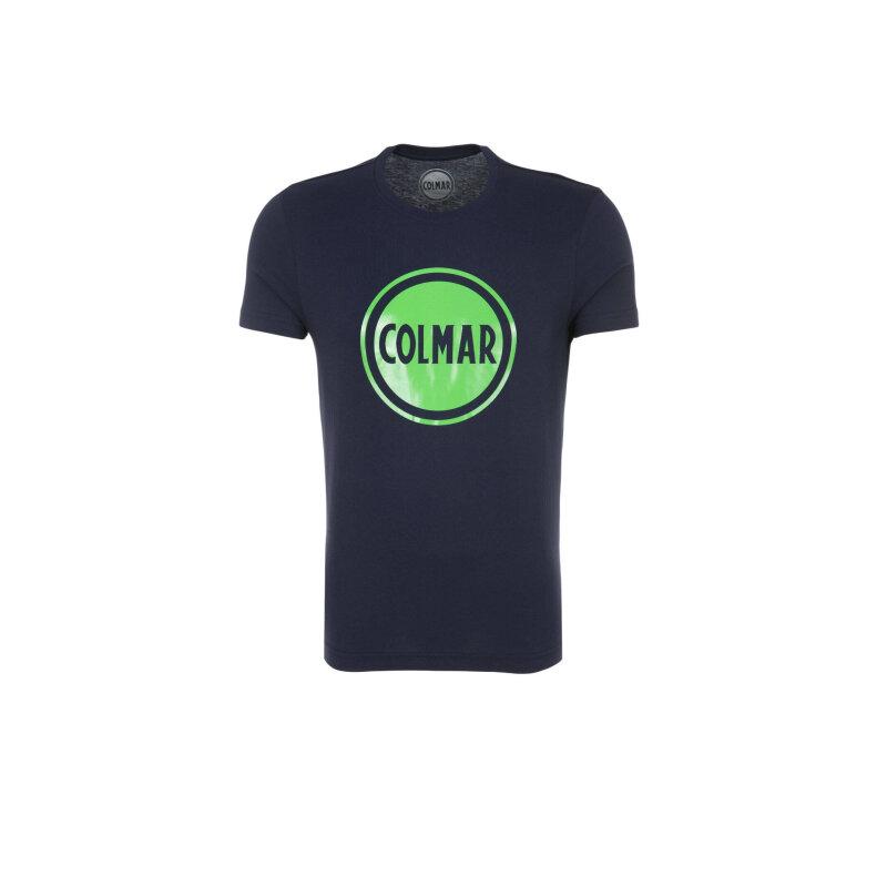 T-Shirt Control Colmar granatowy
