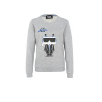 Bluza Robot Karl Lagerfeld szary