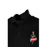 Polo Love Moschino czarny