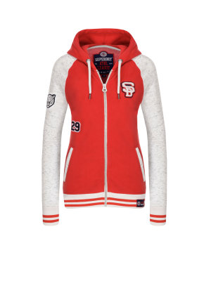 Superdry College Patch Hoodie