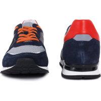 Sneakersy Bikkembergs granatowy