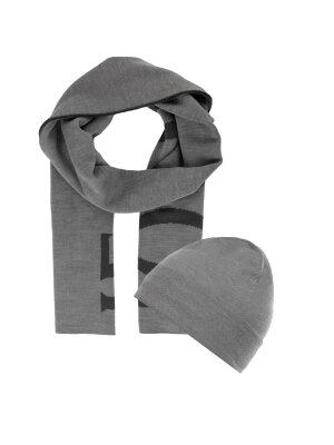 Joop! Jeans Woollen cap + woollen reversible shawl Rob