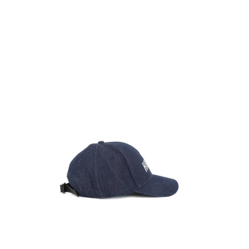 Bejbolówka Denton Tommy Hilfiger niebieski