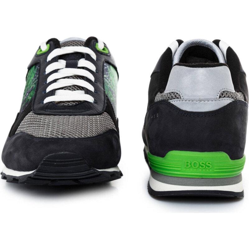 Runcool Botanica Sneakers Boss Green navy blue