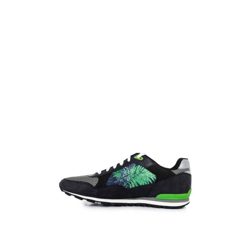Sneakersy Runcool Botanica Boss Green granatowy