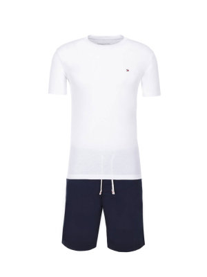 Tommy Hilfiger piżama Authentic woven short set
