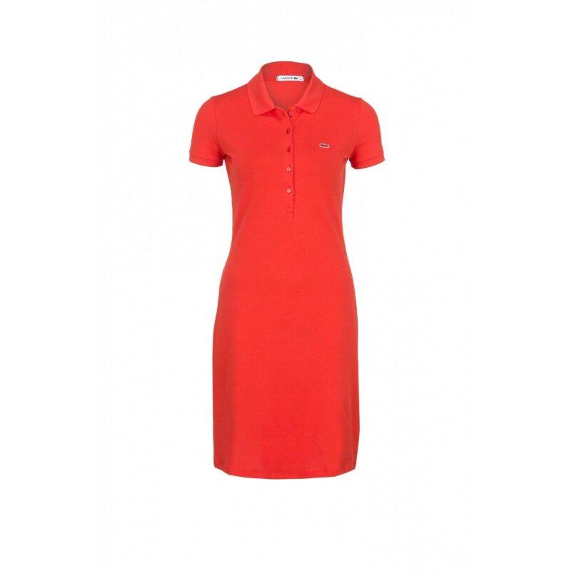 Sukienka Lacoste pomarańczowy