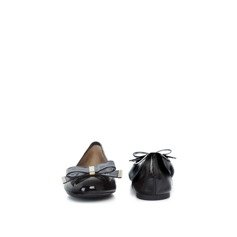 Kiera Ballet Ballerinas  Michael Kors black