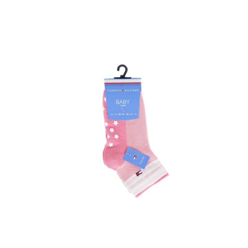 Socks Tommy Hilfiger pink