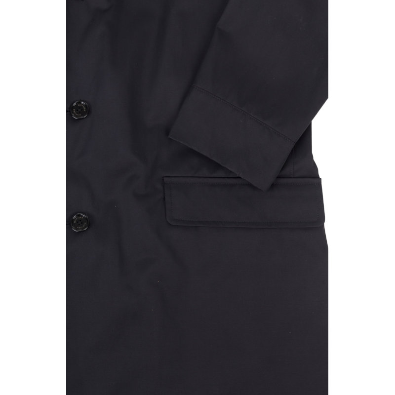 Płaszcz Transatlantic Tommy Hilfiger Tailored czarny