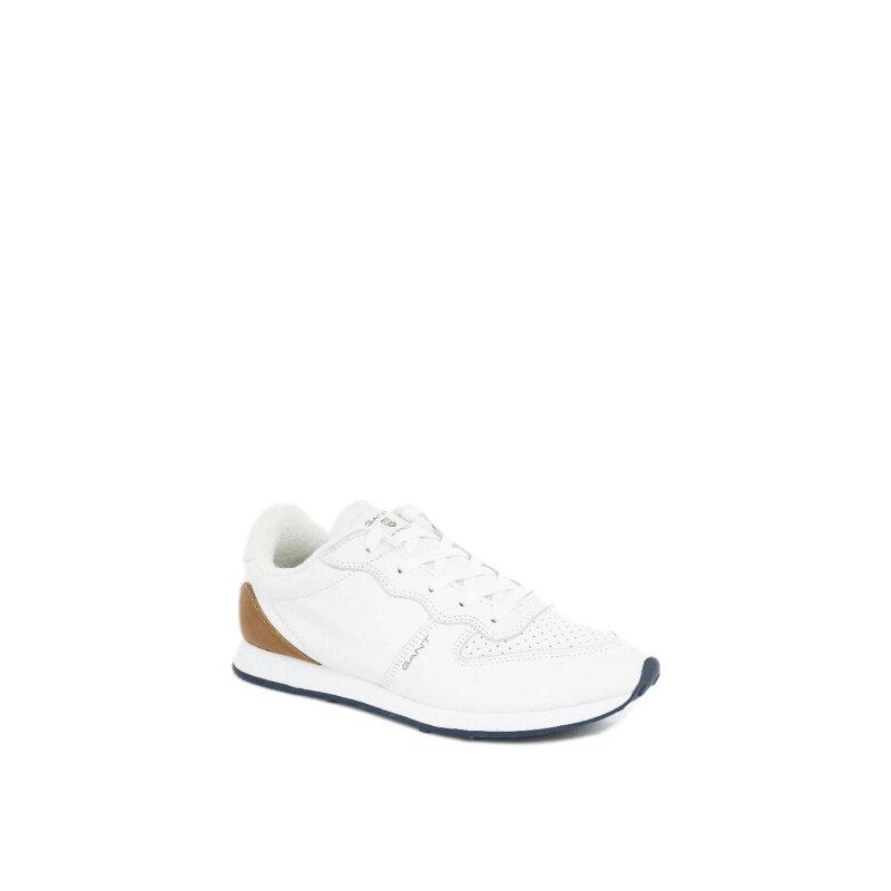 Sneakersy Campus Gant biały