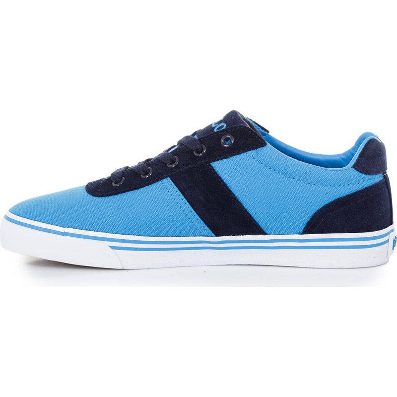 Tenisówki Hanford-Ne Polo Ralph Lauren błękitny
