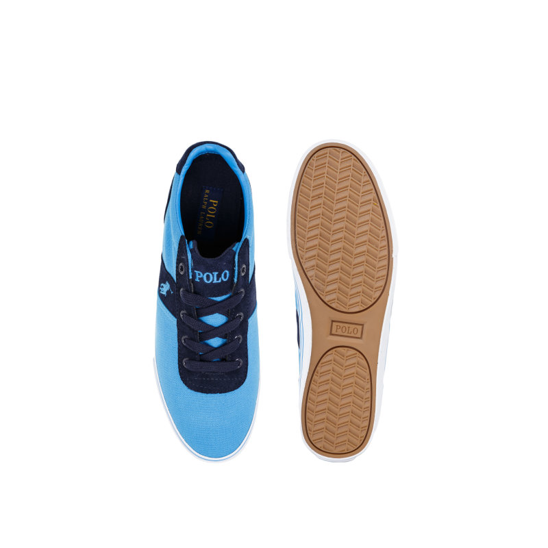 Tenisówki Hanford-Ne Polo Ralph Lauren niebieski
