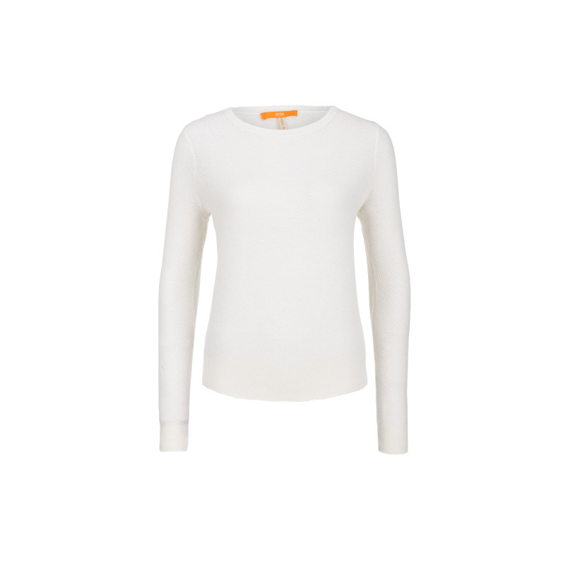 Injkey sweater Boss Orange cream