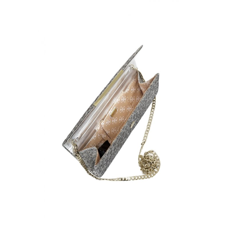 Famous Clutch Guess silver