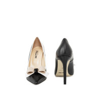 Aurora stilettoes Pollini black