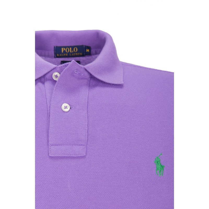 Polo Polo Ralph Lauren fioletowy