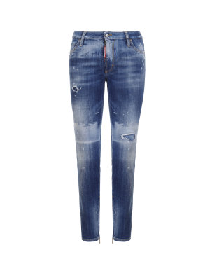 Dsquared2 Jeansy Medium Waist Skinny