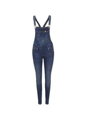 Liu Jo Craft Bottom Up Dungarees