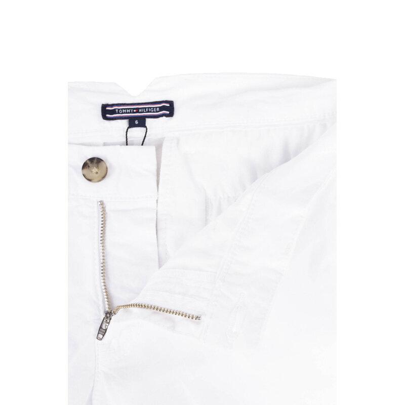 Spodnie Chino Janet Tommy Hilfiger biały
