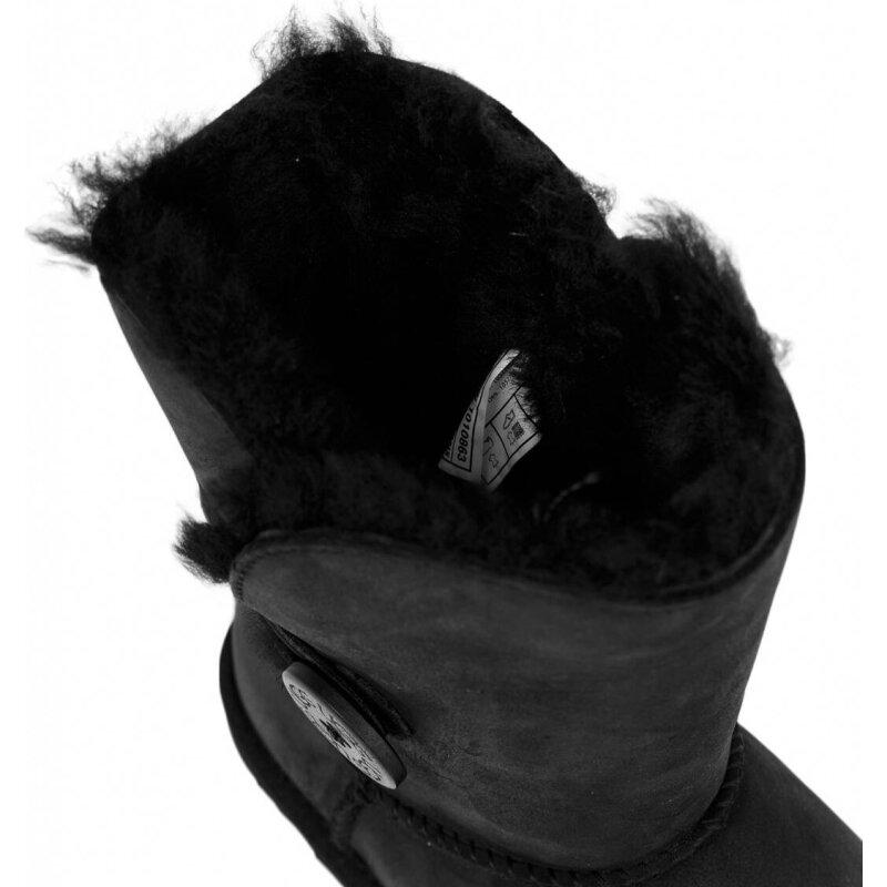 Bailey Button Snow boots UGG black