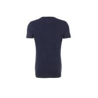 T-shirt THDM Basic VN Knit Hilfiger Denim granatowy