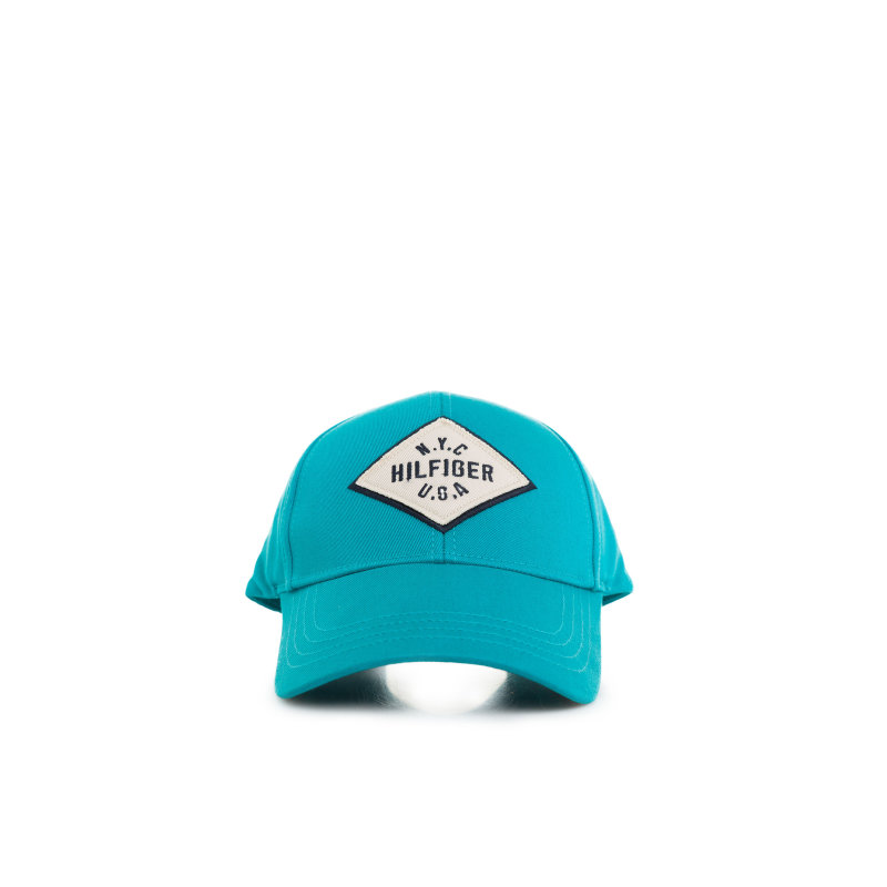 Clyde Baseball cap Tommy Hilfiger turquoise