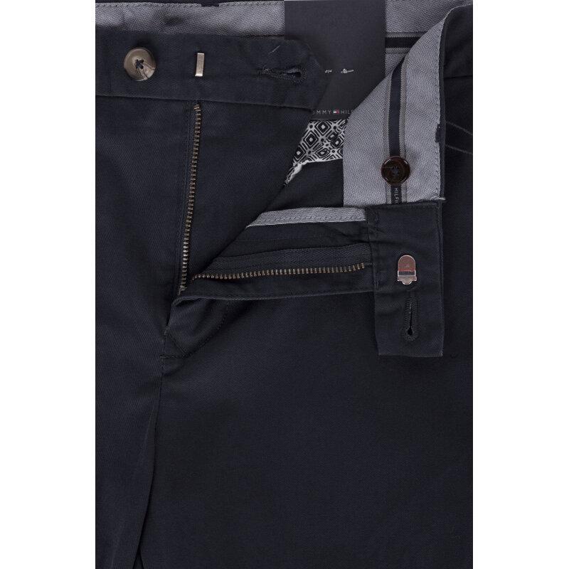Spodnie Chino Denton Tommy Hilfiger granatowy