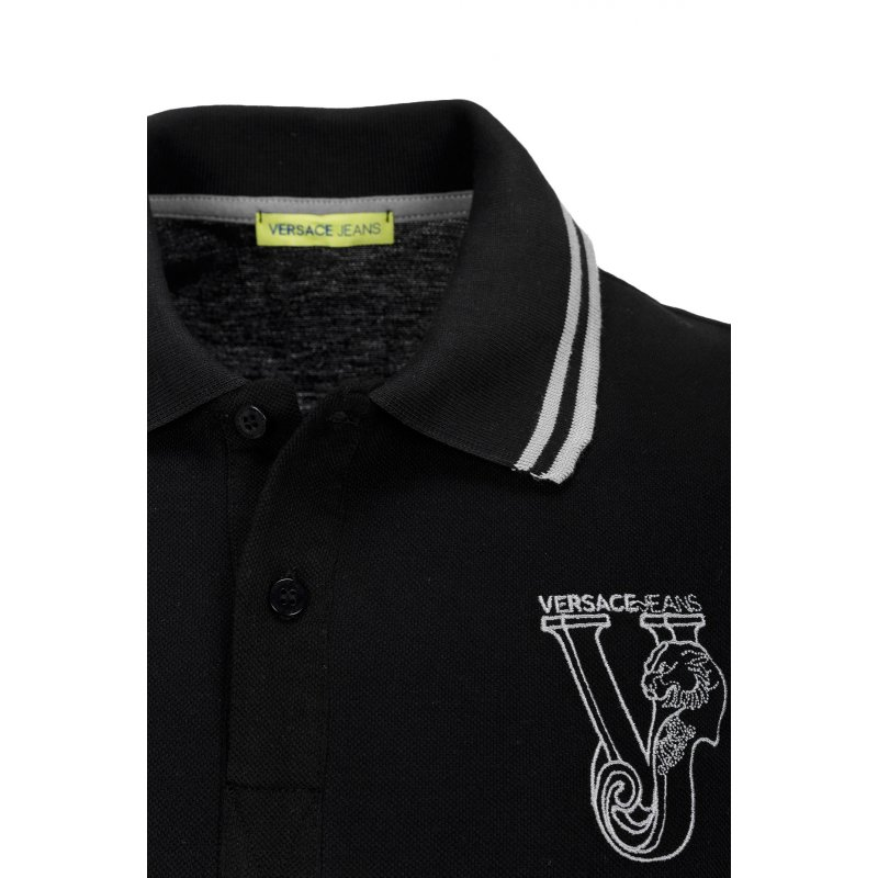 Polo Versace Jeans black
