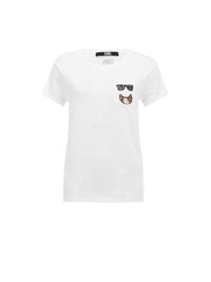 Karl Lagerfeld T-shirt Croissant Pocket