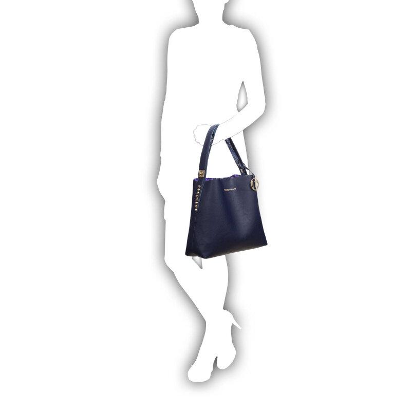 Shopperka + Torebka Trussardi Jeans granatowy
