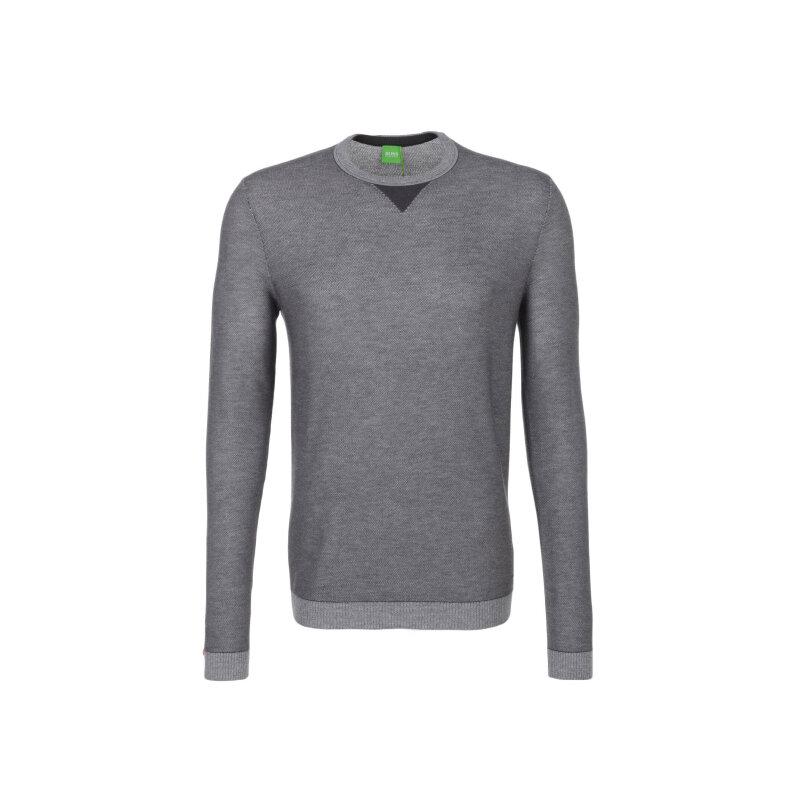 Rix Sweater Boss Green charcoal