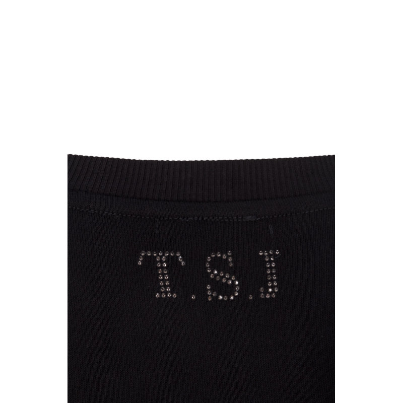 Sweatshirt Twin-Set Jeans black