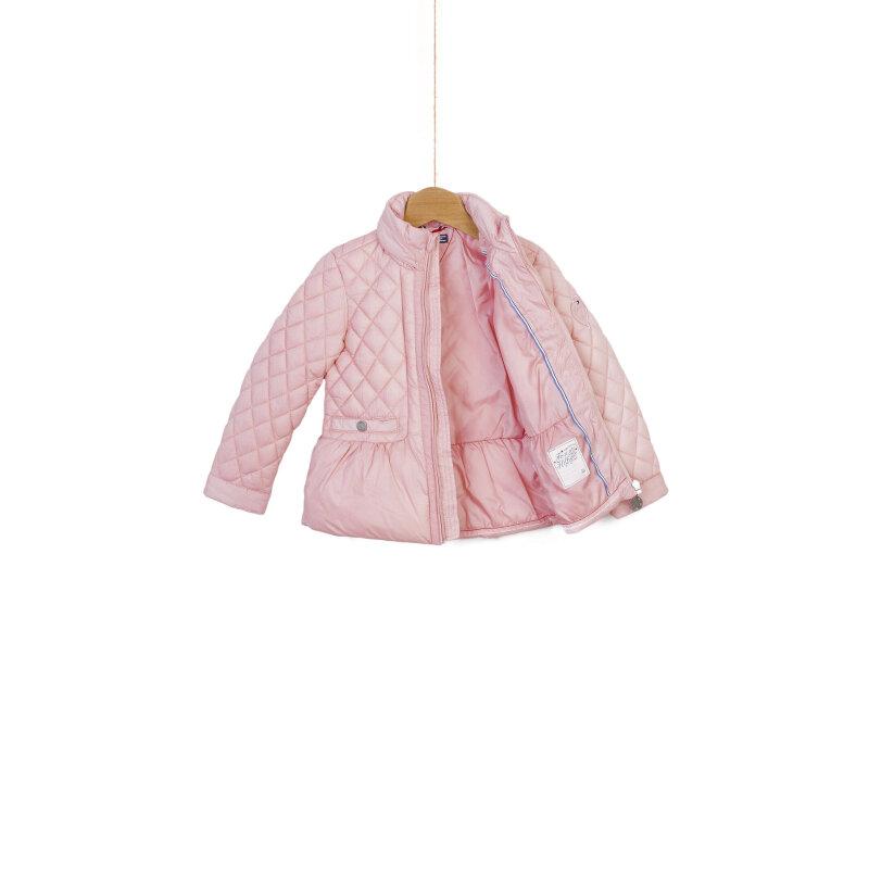 Kurtka Quilted Mini Tommy Hilfiger różowy