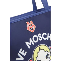 Shopperka Love Moschino granatowy