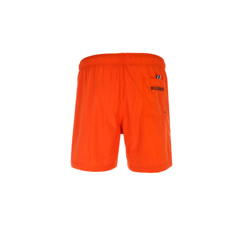 Solid Swim Trunks Tommy Hilfiger orange