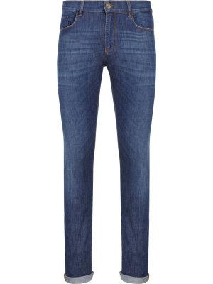Trussardi Jeans Jeansy 370 Extra Slim Fantasy