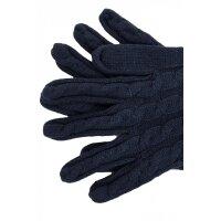 Rękawiczki Farika Tommy Hilfiger granatowy