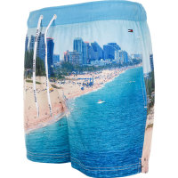 Printed swim shorts Hilfiger Denim blue