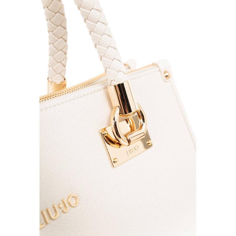M Quadrata Shopper bag Liu Jo white