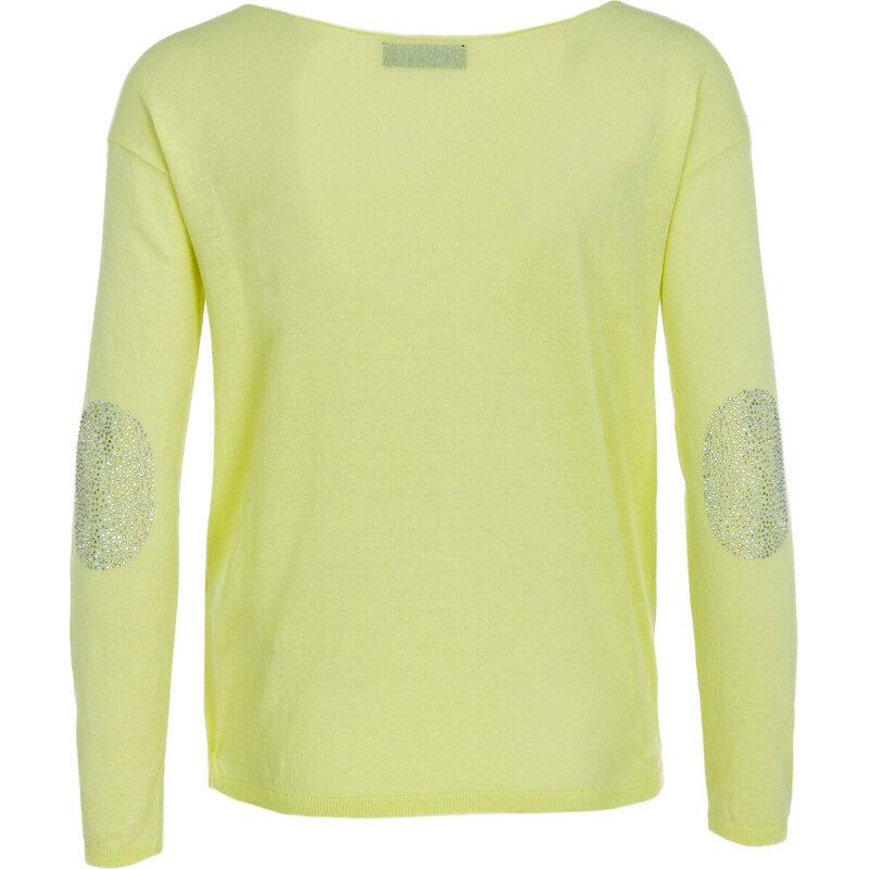 Sweter Twinset Jeans żółty